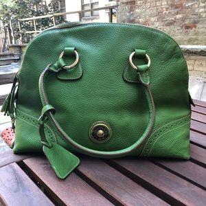 Dooney and Bourke Green Bowler bag 💚 vintage
